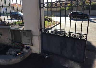 pose de portail électricien
